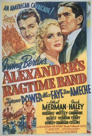 Alexander's Ragtime Band 1122x1663