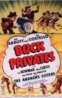 Buck Privates poster