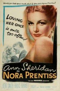 Nora Prentiss poster
