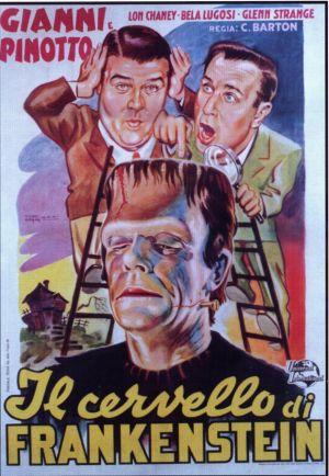 Bud Abbott Lou Costello Meet Frankenstein 883x1276