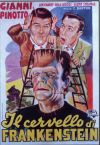 Bud Abbott Lou Costello Meet Frankenstein Poster