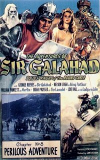 The Adventures of Sir Galahad poster