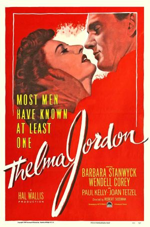 The File on Thelma Jordon Poster