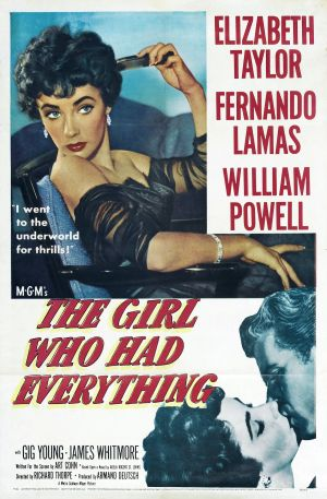The Girl Who Had Everything Poster