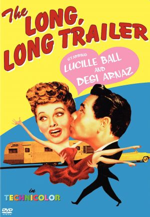 The Long, Long Trailer Dvd cover