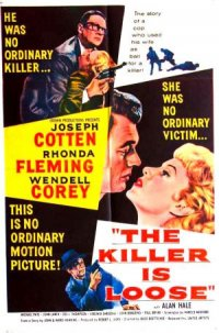 The Killer Is Loose poster