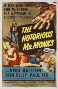 The Notorious Mr. Monks poster