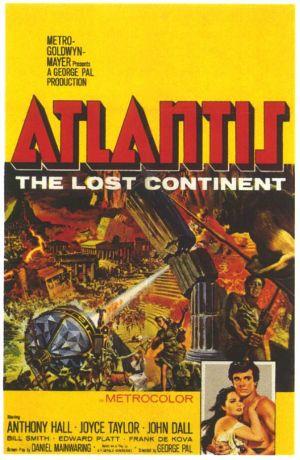 Atlantis: The Lost Continent 595x913
