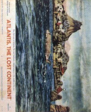Atlantis: The Lost Continent 377x463