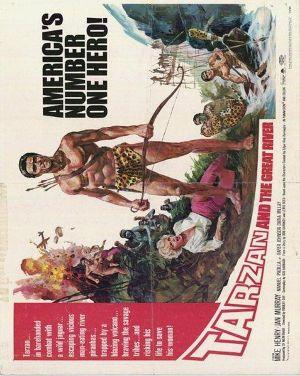 Tarzan and the Great River 600x752