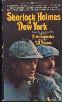 Sherlock Holmes in New York poster