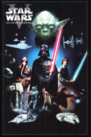 Star Wars: Episodio V - El Imperio contraataca 1600x2400