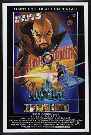 Flash Gordon Advance poster