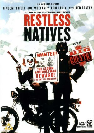 Restless Natives Dvd cover