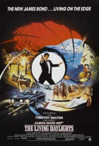 James Bond 007: The Living Daylights poster
