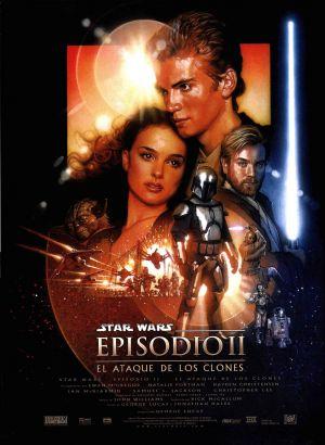 Star Wars: Episodio II - El ataque de los clones 2600x3555