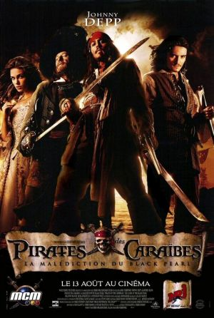 Pirates of the Caribbean: The Curse of the Black Pearl 508x755