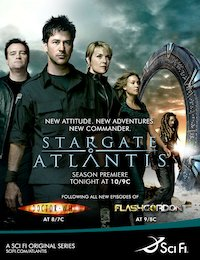 Зоряна брама: Атлантида poster