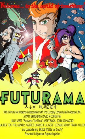 Futurama: Bender's Big Score movies in Italy