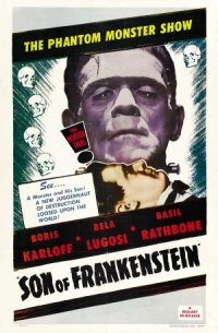 Son of Frankenstein poster