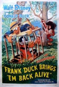 Frank Duck Brings 'em Back Alive poster
