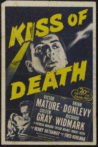 Il bacio della morte poster