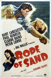 Rope of Sand poster