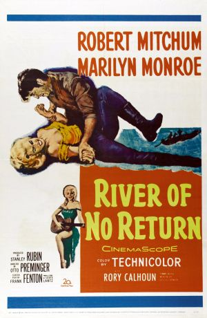 River of No Return Poster