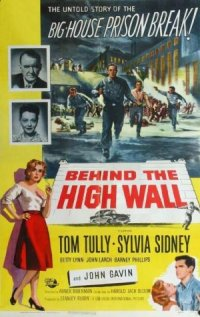 Behind the High Wall poster