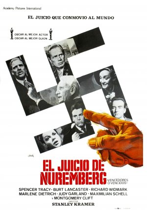 Judgment at Nuremberg poster. Copyright by respective production studio