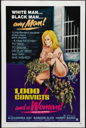 1000 Convicts and a Woman Poster