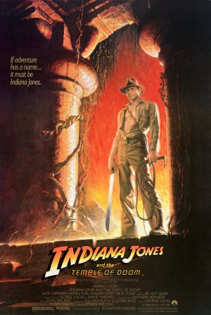 Indiana Jones and the Temple of Doom Theatrical poster