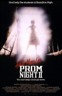Prom Night II poster