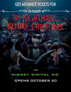 The Nightmare Before Christmas 580x751