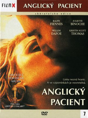 The English Patient Dvd cover