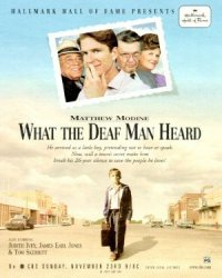 What the Deaf Man Heard poster