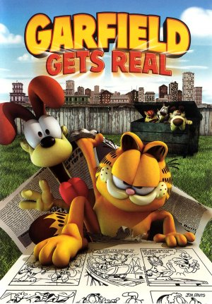Garfield Gets Real Dvd cover