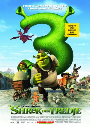 Shrek the Third 2481x3508
