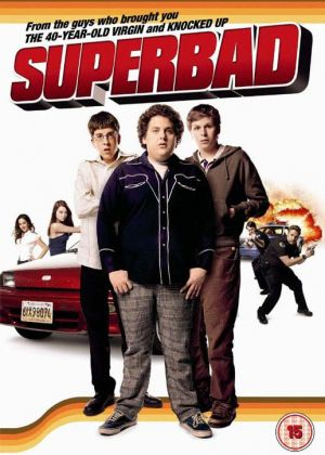 superbad movie pictures. Superbad cover