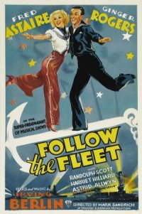 Follow the Fleet poster