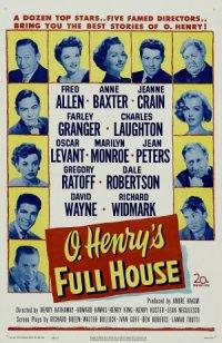O. Henry's Full House poster