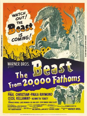 The Beast from 20,000 Fathoms 2261x3000
