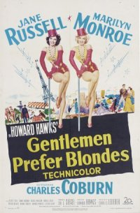 Howard Hawks' Gentlemen Prefer Blondes poster