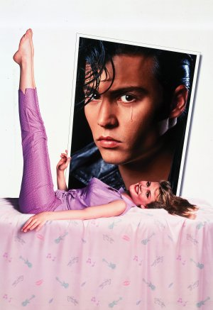 johnny depp cry baby poster