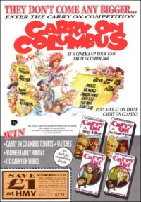 Carry on Columbus poster