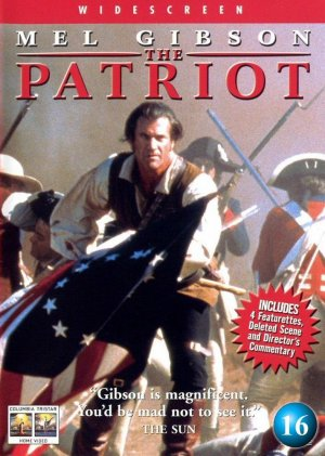 The Patriot Dvd cover