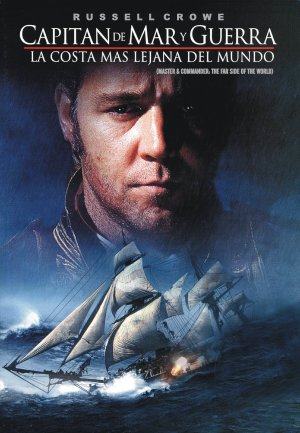 Master and Commander: The Far Side of the World Dvd cover