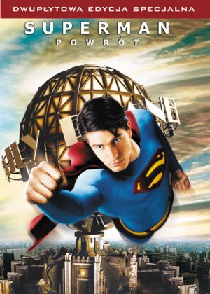Superman Returns Dvd cover