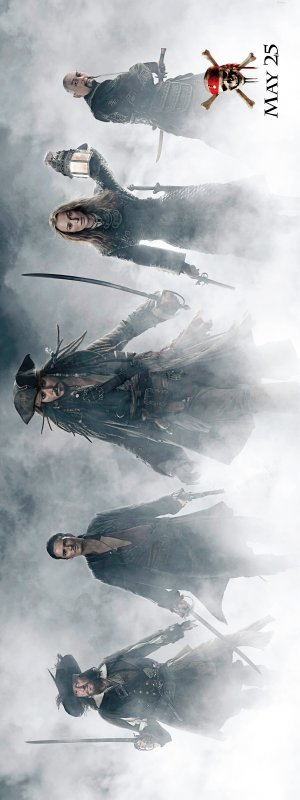Pirates of the Caribbean: At World's End 1800x4799