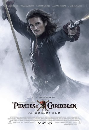 Pirates of the Caribbean: At World's End 892x1300